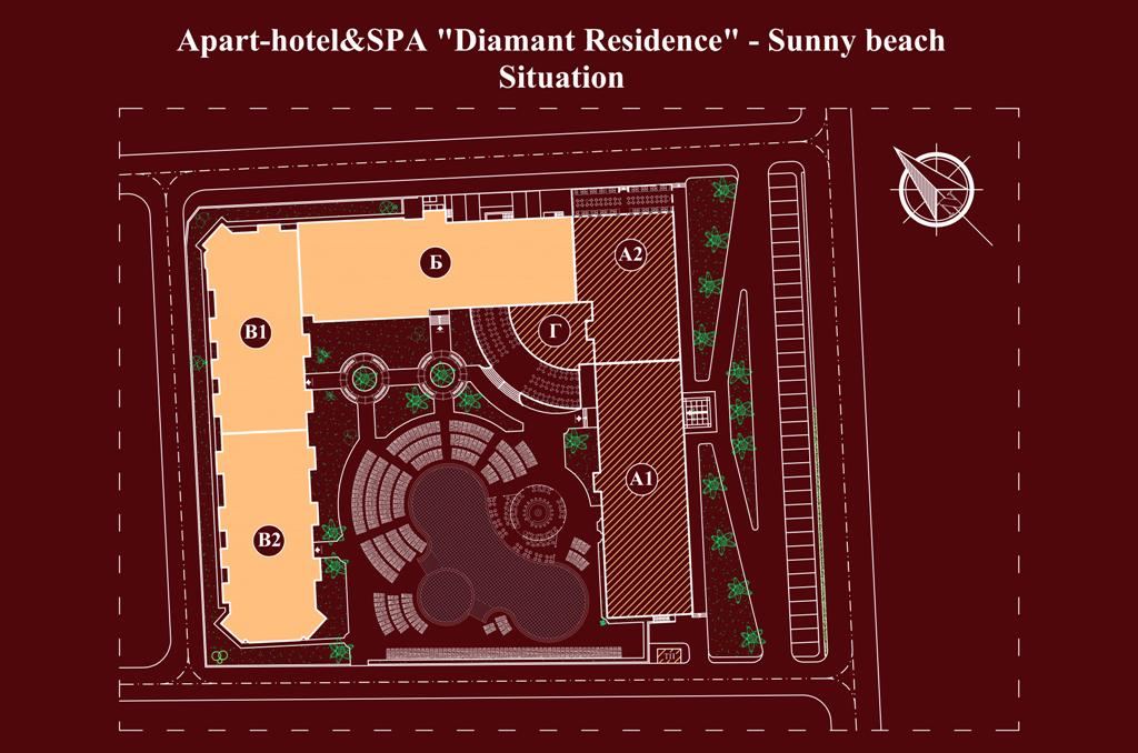 "Apart-hotel & Spa ""Diamant Residence"" - floor plans"