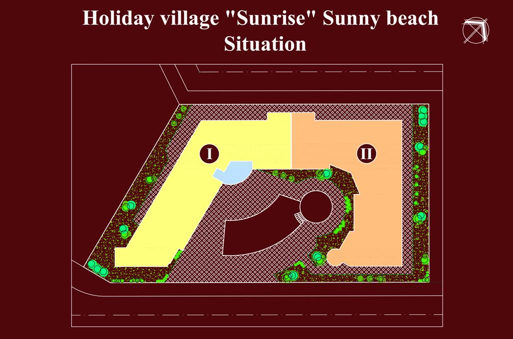 Apart - hotel SUNRISE -  Floor plans